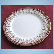 "Pretty Cauldon 8 ¾"" Plate"