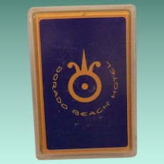 Dorado Beach Hotel Sealed Deck Plastic Coated Playing Cards New in Box