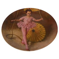 Knowles Collector Plate Katie the Tightrope Walker