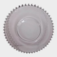 "Imperial Glass Candlewick 10"" Dinner Plate"