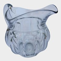 Large Glass Heisey Pitcher Colonial Pattern Stem 373-341