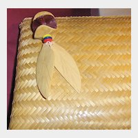 Attractive Envelope Style Woven Straw Clutch or Handbag