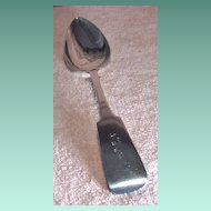 Beautiful Johnson & Godley Silver Fiddle Back Serving Spoon