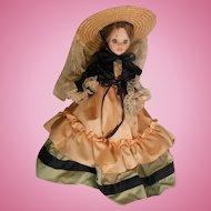 Virginie Vintage Italian Doll from Italy by Fiba