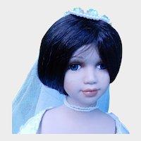 Seymour Mann Porcelain April Bride Doll from the Connoisseur Collection