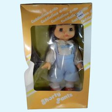 Shorty Pants Doll in Original Box Made in Hong Kong