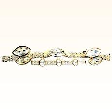 First American Swarovski S.A.L. Mark Demi Parure Bracelet, Earrings and Brooch