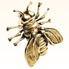 Metropolitan Museum of Art 1982 Honey Bee Pin