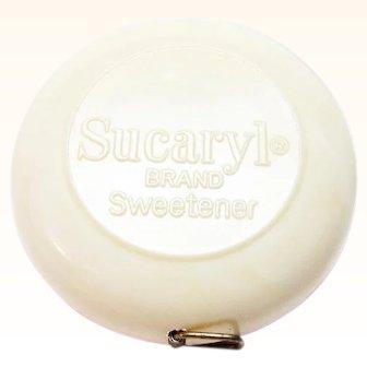 Sucaryl Brand Sweetener Advertising Sewing Measuring Tape 1960s