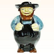Vintage Amish Farmer Ceramic Coin Bank by Kurtz