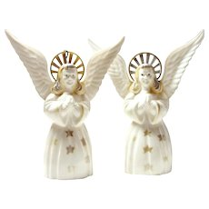 Vintage Early 50s Christmas Angelical Duo