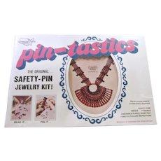 70's Pin-Tastics Flamenco Necklace Jewelry Craft Kit #1001