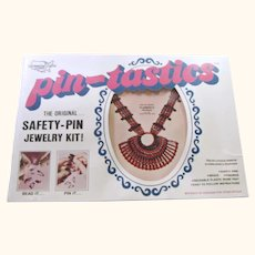 70's Pin-Tastics Flamenco Necklace Jewelry Craft Kit #1001