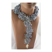 Incredible Lustrous Cultured Fresh Water Pearl Necklace