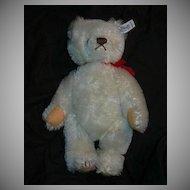 Steiff White Teddy Bear Vintage Western Germany