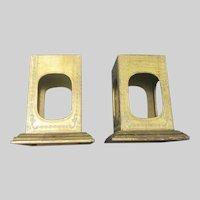 Pair Florentine Italian Gilt Table Statue Platforms Pedestals