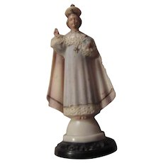 Old Hartland Jesus Infant of Prague Figurine Statue