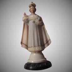 Old Hartland Jesus Infant of Prague Figurine Statue