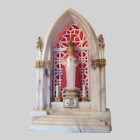 Jesus Infant of Prague Tiny Shrine