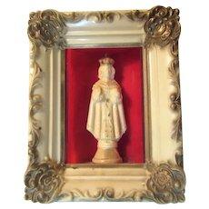 Jesus Infant Of Prague Small Shrine