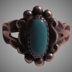 Native American Baby Childs Ring Size 2