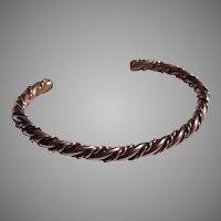 Native American Silver Baby Bracelet