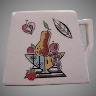 Handpainted Old Japan Creamer Cream Pitcher Mid Century