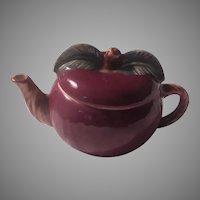 Red Apple Tea Pot