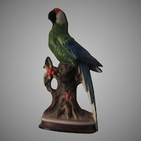 Large Japan Parrot Statue Figurine