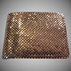Whiting Davis Gold Metal Mesh Wallet Evening