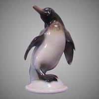 Germany Penguin Signed Figurine Small Figure