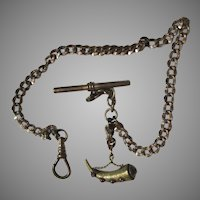 Victorian Watch Chain Unusual Fob
