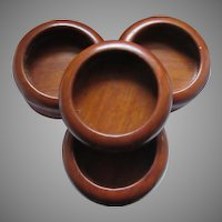 Set 7 Fine Wood Salad Bowls Hensens Woodcraft Philippines