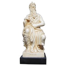 Moses Vintage Statue Figurine Small Religious
