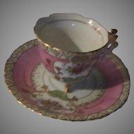 Old Japan Demitasse Cup Saucer