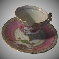 Old Japan Demitasse Cup Saucer