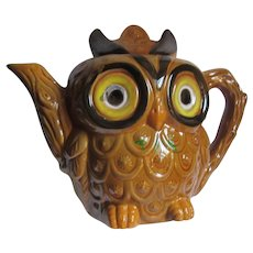 Big Eye Owl Teapot