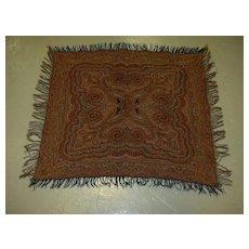 Antique Paisley Throw  Fine Textile Weaving