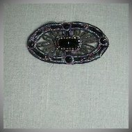 Old Beaded Work Dress Trim Fabulous