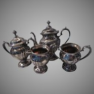 Knickerbocker Silverplate 4 Pc Tea Set