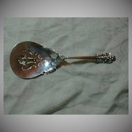 Wallace Grande Baroque Sterling Silver Bonbon Spoon