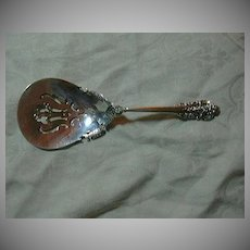 Wallace Grande Baroque Sterling Silver Bonbon Spoon