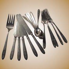 Community Plate Oneida Grosvenor Group Spoons Forks Knives