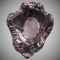 Sheridan Silverplate Small Art Nouveau Style Bowl