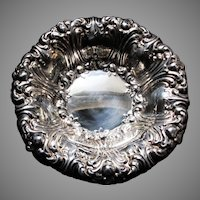 Gorham Silverplate Fancy Serving Bowl Fine Dining Silver
