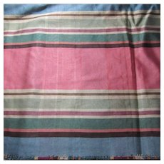 Stripe Faille Vintage Fabric 3.75 Yds