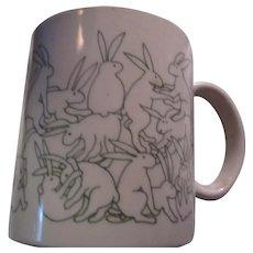 Unique Mug Bunnies Rabbits