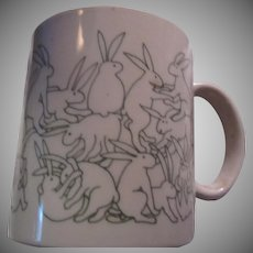 Unique Mug Bunnies Rabbits