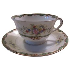 Noritake Condoro  Cup & Saucer Set Fine Dining Japanese China