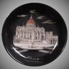 Miniature Plate Rome Vatican